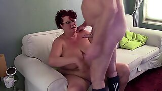 BBW Brunette wants his Cock really bad