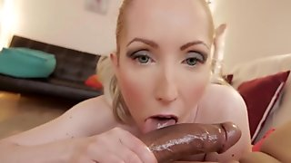 Candy May - Sucks boyfriend's BBC