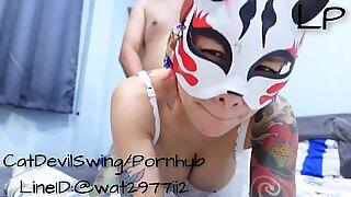 Thailand mask sex