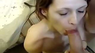 Threesome Blowjob on Webcam - crankcams.com