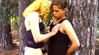 young guy gets fucked by a tranny