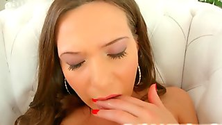 Givemepink dildo play with hot Subil Arch