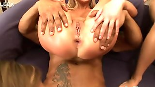 Kinky and really voracious sluts with nice tits desire to be fucked by black dude