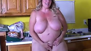 Beautiful big tits old spunker loves to fuck her wet pussy