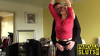Molly Maracas gets drilled while handcuffed