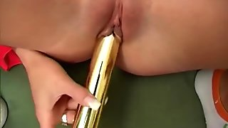 Hot Tight Blonde And Her Toy - Pleasure Photorama