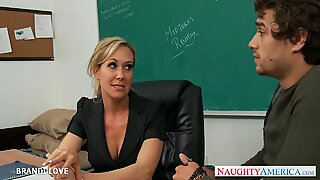 Brandi Love ready for his big dick to be deep inside her MILF pussyReport this video