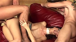 Leanna Sweet Sabrina Rose Hott Group Sex with Big Dicks