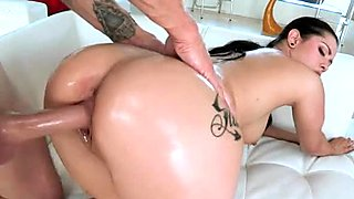 Thick white babe Katrina Jade gets hammered by cocky Chris Strokes