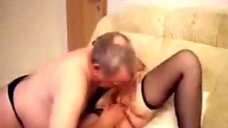 Having fun with my mature slut