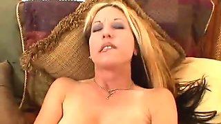Hot Mom Giving Blowjob