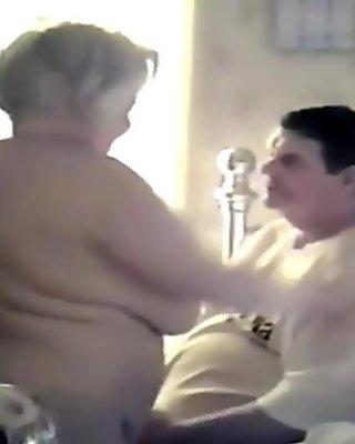 Granny orgasm